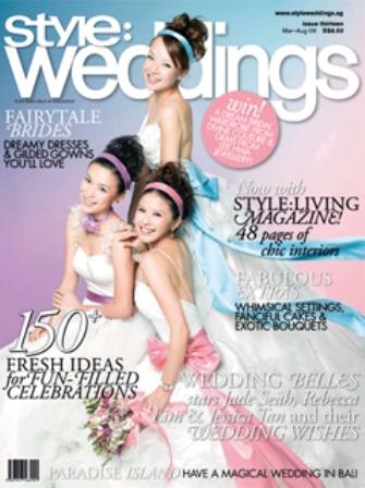 Style Weddings Mar-Aug 2009 Cover