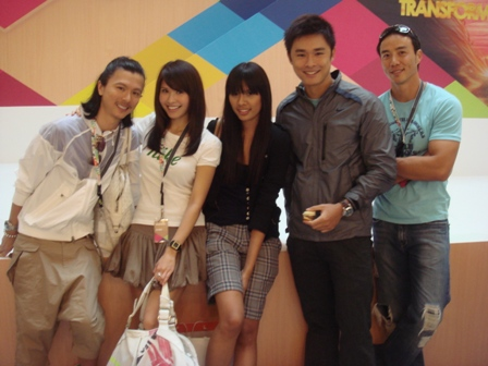 Clarence, Me, Christabel, Julian & Allan