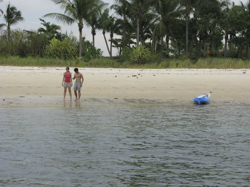 IMG_1414 - Wayne and Ailin on the Beach
