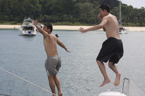 IMG_5038 - Jumping off the Boat
